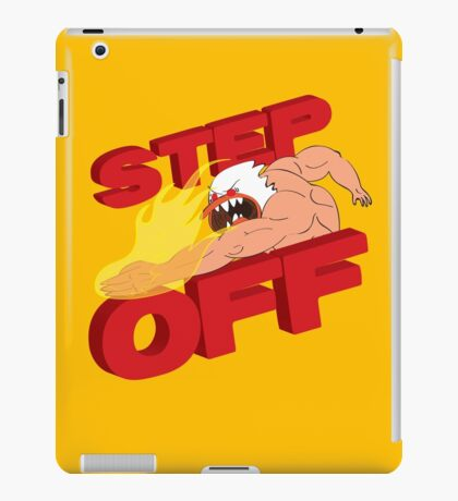 STEP OFF iPad Case/Skin