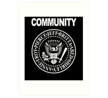 Community - Great Seal of the Study Group Art Print