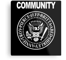 Community - Great Seal of the Study Group Metal Print