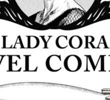 Cora Crawley - Downton Abbey Industries Sticker