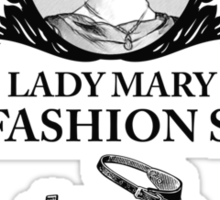 Lady Mary - Downton Abbey Industries Sticker