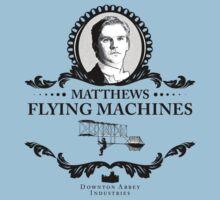Matthew Crawley - Downton Abbey Industries  by Rob Stephens