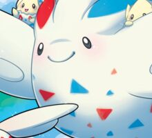 Togekiss Express Sticker