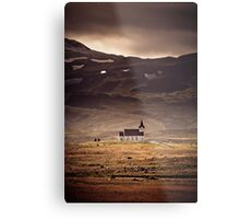 Church of Snaefelesness Metal Print