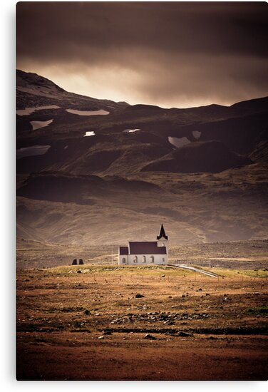 Church of Snaefelesness by Mel Sinclair