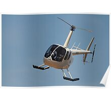 The Helicopter ride Poster