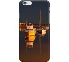 Mirrored Moorings iPhone Case/Skin