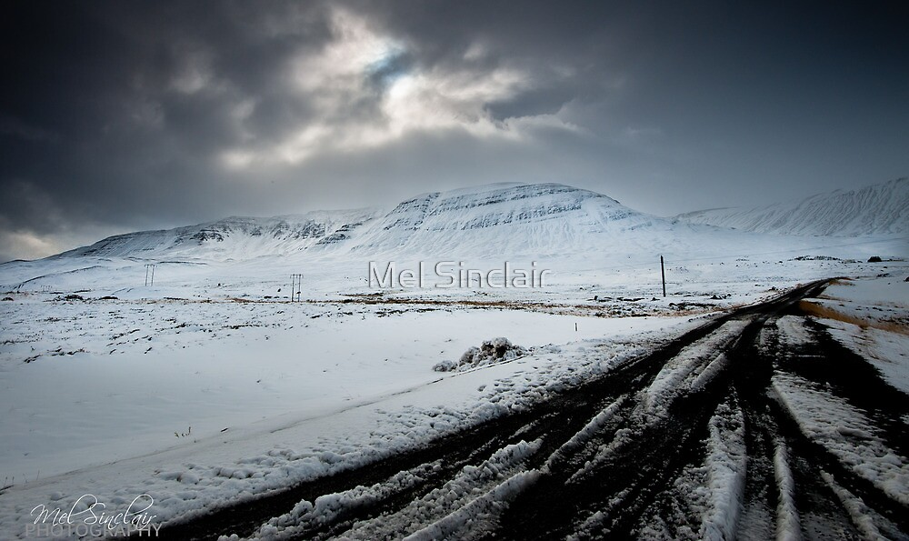 Surrounded By Snow by Mel Sinclair