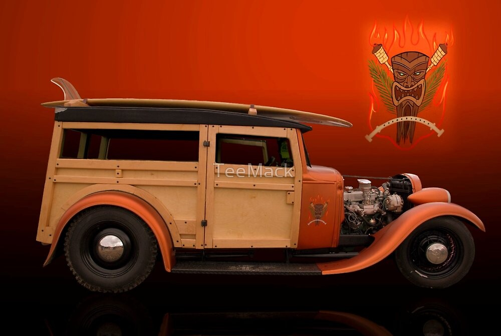 1930 Ford Model A Woody by TeeMack