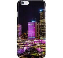 Circular Quay Neon  iPhone Case/Skin