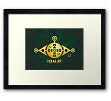 I'm a Healer! Framed Print