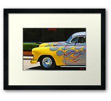 """ Fire and Brimstone "" Framed Print"