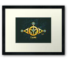 I'm a Tank! Framed Print