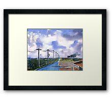 Outback 2 Framed Print