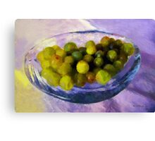 Grapes on the Half Shell Canvas Print
