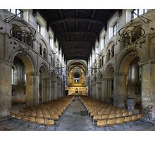 Nave, Rochester Cathedral, Kent, England Photographic Print