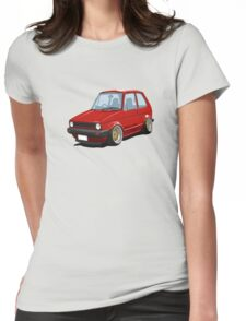 Cartoon MK1 Golf Womens Fitted T-Shirt