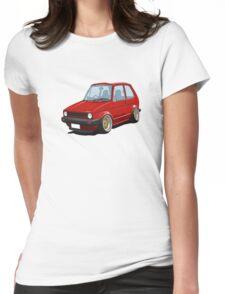 Cartoon MK1 Golf Womens Fitted T-Shirt