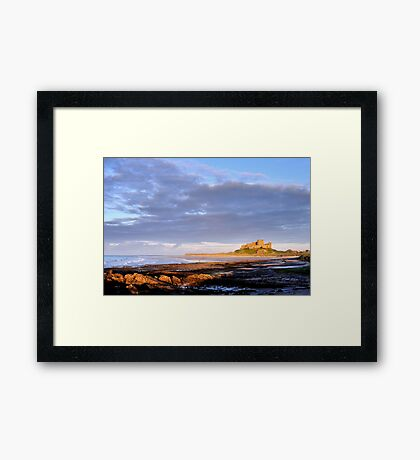 Bamburgh Castle - Northumberland Framed Print