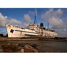 Ship Salvage Photographic Print