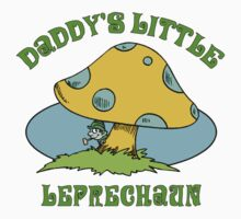 Daddy's Little Leprechaun Baby Tee