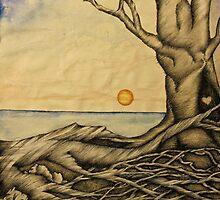 Moon Beach by Treestone