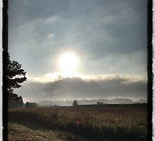 SUNRISE ON A BACK ROAD by katemmo