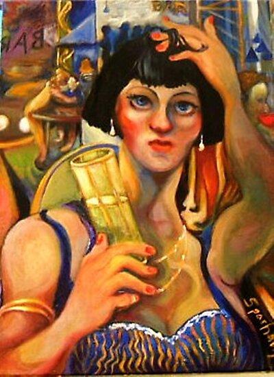 THE PERNOD DRINKER by Barbara Sparhawk