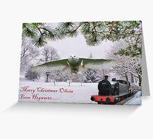 Merry Christmas Olivia Greeting Card