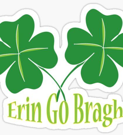 Erin Go Bragh Sticker