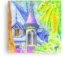chalet in sintra Canvas Print