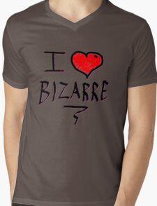 i love bizarre heart  Mens V-Neck T-Shirt