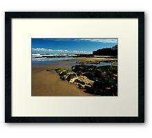 Old Hartlepool Shoreline 001 Framed Print