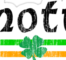 Irish Woman Sticker