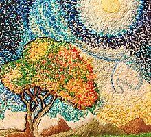 Pastoral Moon by Treestone