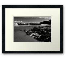 Old Hartlepool Shoreline 002 Framed Print
