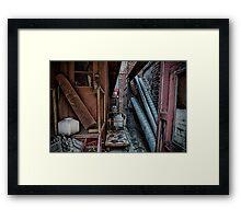 Junk Yard Framed Print