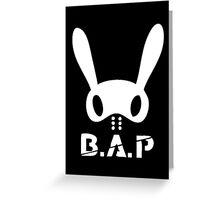 B.A.P Card Greeting Card