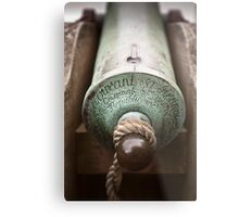 Cannon at St Michaels Mount Metal Print