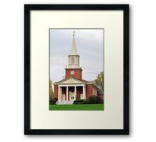 Chapel at Bucknell University Framed Print