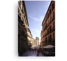 Calle de Toledo Canvas Print