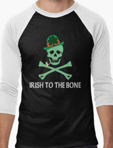 Irish To The Bone Men's Baseball ¾ T-Shirt