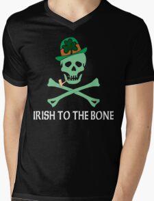 Irish To The Bone Mens V-Neck T-Shirt
