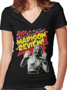 The Madison Review Comic Women's Fitted V-Neck T-Shirt