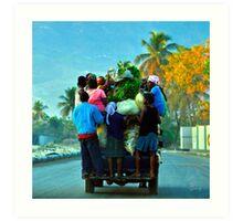 Ann'Ale - Haiti Art Print