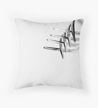 Forks 08 Throw Pillow