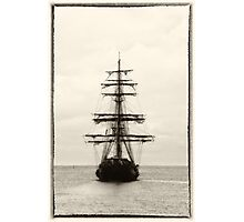 Ahoy!  Pirate Ship  Photographic Print