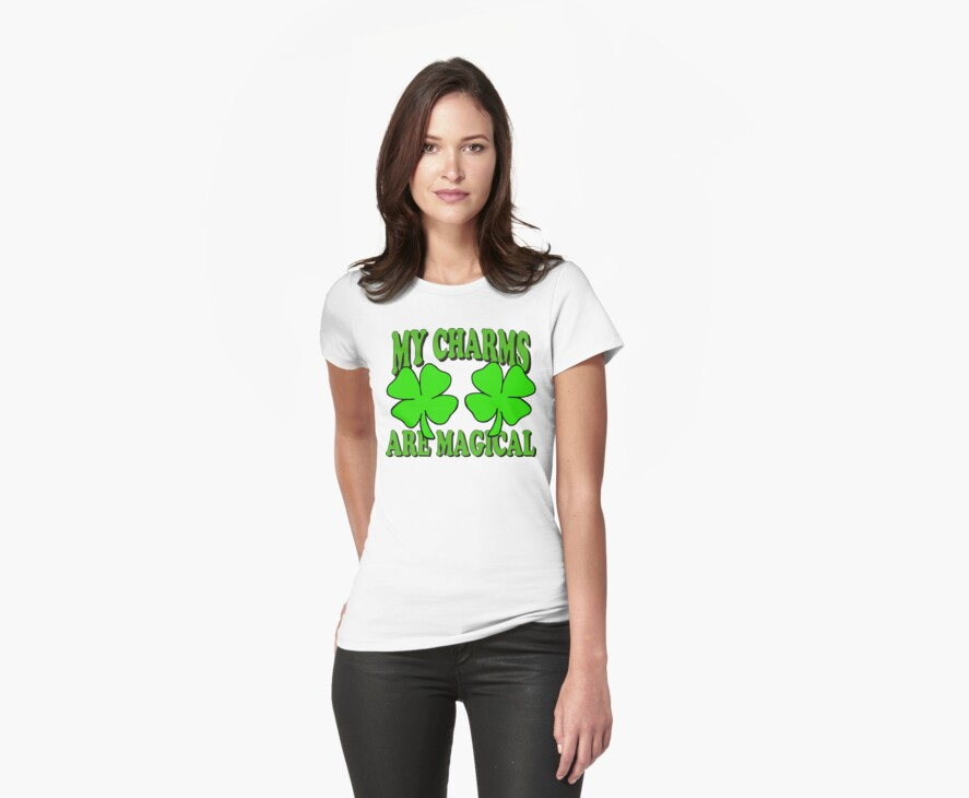 My Lucky Charms Women's by HolidayT-Shirts