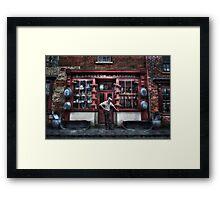 Mr Langston's Hardware Shop Framed Print