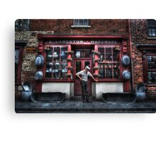Mr Langston's Hardware Shop Canvas Print